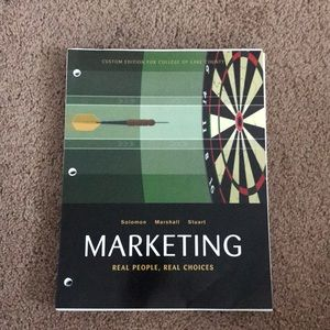 Loose leaf Intro to Marketing College Textbook NEW
